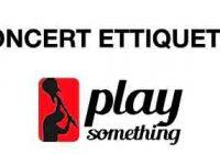 Concert Ettiquette